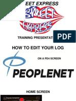 Log Edits PD4