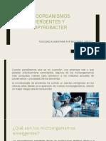 Microorganismos Emergentes y Campyrobacter