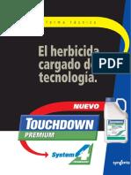 Touchdown Premium-Informe Técnico