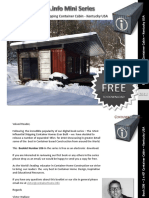 Shipping Container Homes Book 206 Kentucky Container Cabin