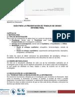 Protocolo Capítulos 3 y 4