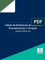 Tabela Referencia Exames Procedimentos e Terapias