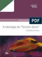 """A Ideologia Do """"Terceiro Setor"""" - Gabriel Eduardo Vitullo (1)"""