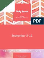ed608 sticky journal