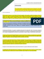 """Resumen Polã_tica y Legislaciã""""n Educativa (Super Resumido)"""