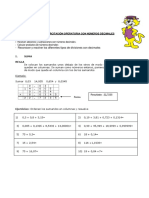 Guia Matematica Operatoria Decimales 03-08-2015