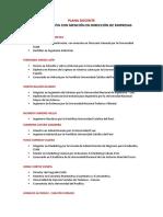 Plana Docente Adm Web 2019