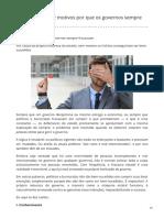 Dez Motivos Por Que Os Governos Sempre Fracassam - Mises Brasil