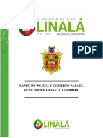 Bando de Policia Mpio 045 - 2015-2018