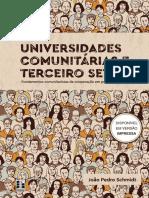 Universidades comunitárias e terceiro setor
