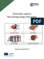 Cargo Calculator Formulas_EN