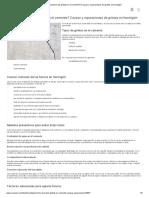 Cómo prevenir las grietas en el cemento? Causas y reparaciones de grietas en hormigón