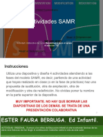 Actividades  SAMR