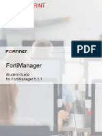 FortiManager Student Guide-Online