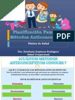 Planificacion Familiar Metodos Anticonceptivos