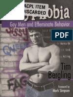 Sissyphobia Gay Men and Effeminate Behavior