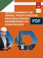 OTR - MBA Gerenciamento de Obras Produção Racionalização e Desempenho Da Construcao