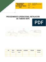 1 Procedimiento Tuberia HDPE.doc