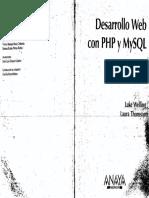 Anaya Multimedia - Desarrollo Web Con Php Y Mysql - Luke Welling & Laura Thomson - 3Ed El Holistico.pdf