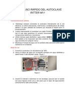 Autoclave Ritter m11