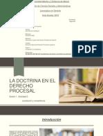La Doctrina en El Derecho Procesal