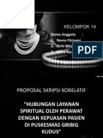 Proposal skripsi korelatif