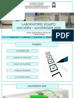 Lab Malvern Mastersizer 2000