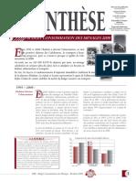Budget Consommation des ménages NC 2008
