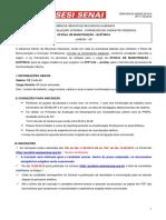 292-2019 Oficial de Eletrica Senai