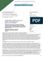 Profesionalismo Médico en El Nuevo Milenio_ Un Estatuto Para El Ejercicio de La Medicina