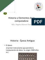 Historia y Elementos de la Computadora