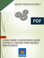 Capacidad de Proceso Xp