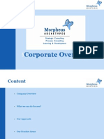 Corporate Overview Morpheus Archetypes
