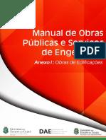 Manual de Obras Públicas e Serviços de Engenharia - CGE-CE (Anexo-I-Obras-De-Edificações)
