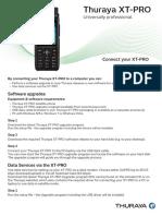 Thuraya XT-PRO Connection Manual