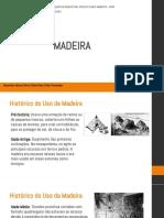 Tecnologias da construção - Madeira