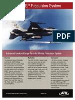 Advanced Medium Range Air-To-Air Missile Propulsion System