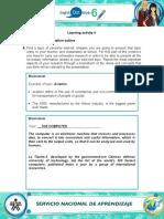 Evidence_My_presentation_outline