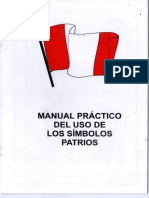 MANUAL DE LOS SIMBOLOS PATRIOS DE PERU