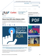 Resumen Nueva Guía 2019 Sobre Diabetes (ADA) - Artículos - IntraMed
