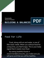 A balance diet