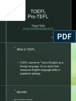 Pro-Tefl by Yuyun Yulia