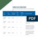HDFC Illustration Guaranteed Income