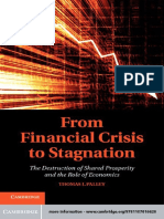 Dr Thomas I. Palley - From Financial Crisis to Stagnation_ The Destruction of Shared Prosperity and the Role of Economics-Cambridge University Press (2013).pdf