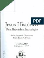 Jesus Histórico. Uma Brevíssima Introdução