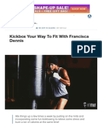 Kickbox Your Way to Fit With Francisca Dennis _ Muscle & Strength