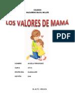 Valores de Mama