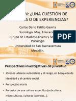 Ser Joven- Ponencia. Ppt Carlos Darío Patiño