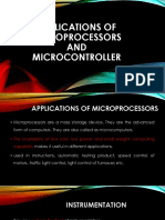 Applications of Microprocessors