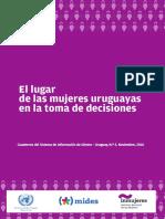 El Lugar de Las Mujeres Uruguayas en La Toma de Decisio... 1